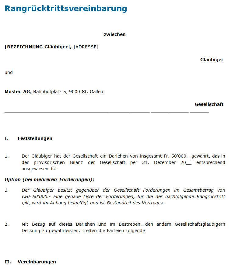 Modern Darlehen Vorlage Vereinbarung Embellishment - FORTSETZUNG ...